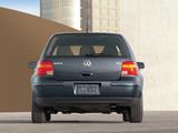 Volkswagen Golf 1.9 TDI 5-door US-spec (Typ 1J) 1999–2003 images