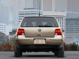 Volkswagen Golf 2.0 5-door US-spec (Typ 1J) 1999–2003 images