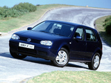 Volkswagen Golf 2.0 5-door ZA-spec (Typ 1J) 1999–2003 photos