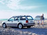 Volkswagen Golf Estate (Typ 1J) 1999–2007 pictures