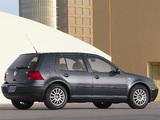 Volkswagen Golf 1.9 TDI 5-door US-spec (Typ 1J) 1999–2003 pictures