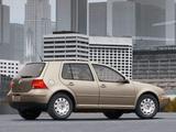 Volkswagen Golf 2.0 5-door US-spec (Typ 1J) 1999–2003 wallpapers