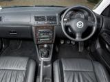 Volkswagen Golf GTI UK-spec (Type 1J) 2001–03 images