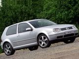 Volkswagen Golf GTI UK-spec (Type 1J) 2001–03 pictures