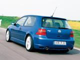 Volkswagen Golf R32 (Typ 1J) 2002–04 images