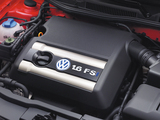 Volkswagen Golf 1.6 FSI 3-door (Typ 1J) 2002–03 pictures