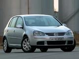 Volkswagen Golf 2.0 TDI Sport 5-door ZA-spec (Typ 1K) 2003–08 photos