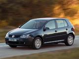 Volkswagen Golf 1.9 TDI 5-door ZA-spec (Typ 1K) 2003–08 wallpapers