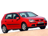 Volkswagen Golf 1.6 5-door ZA-spec (Typ 1K) 2003–08 wallpapers