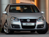 Volkswagen Golf GTI 5-door ZA-spec (Typ 1K) 2004–08 images