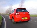 Volkswagen Golf GTI Edition 30 UK-spec (Typ 1K) 2007 pictures