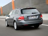 Volkswagen Golf Variant (Typ 1K) 2007–09 wallpapers