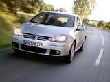 Volkswagen Golf Blue Motion (Typ 1K) 2008 images