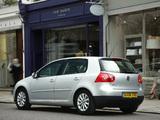 Volkswagen Golf Blue Motion (Typ 1K) 2008 photos