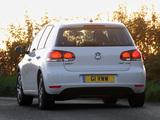 Volkswagen Golf 5-door UK-spec (Typ 1K) 2008 pictures