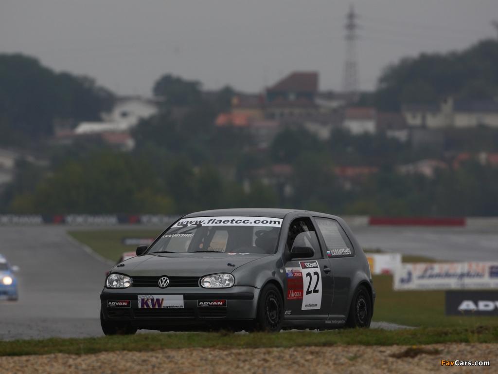 Volkswagen Golf ETCC (Typ 1J) 2008–09 pictures (1024 x 768)