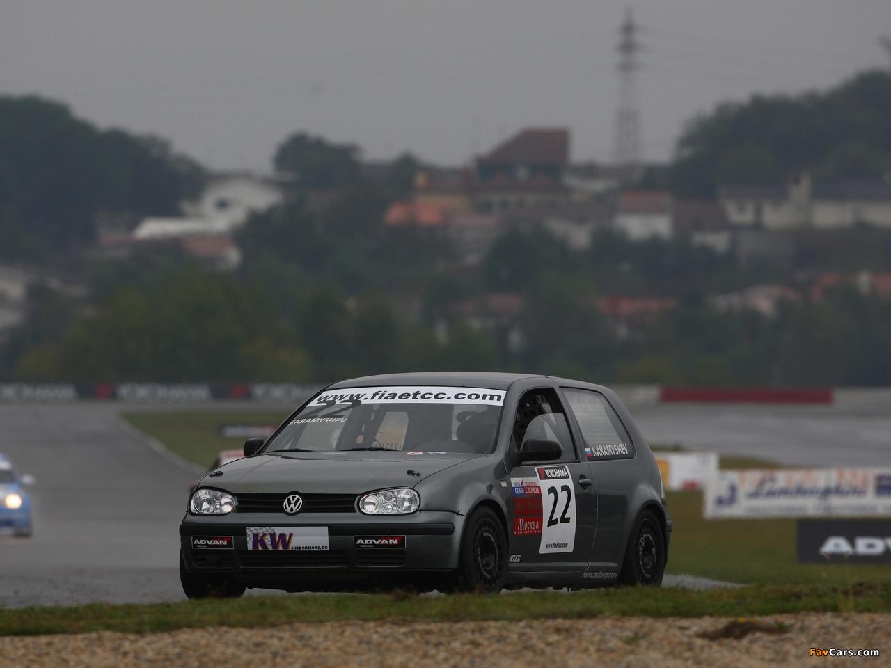 Volkswagen Golf ETCC (Typ 1J) 2008–09 pictures (1280 x 960)