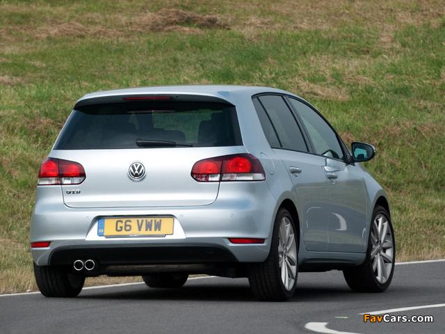 Volkswagen Golf GTD 5-door UK-spec (Typ 5K) 2009 photos (640 x 480)