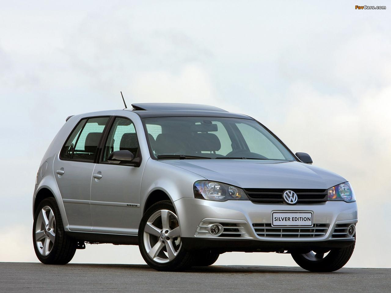 Volkswagen Golf Silver Edition BR-spec (Typ 1J) 2009 photos (1280 x 960)
