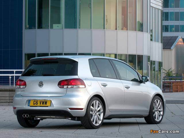 Volkswagen Golf GTD 5-door UK-spec (Typ 5K) 2009 pictures (640 x 480)