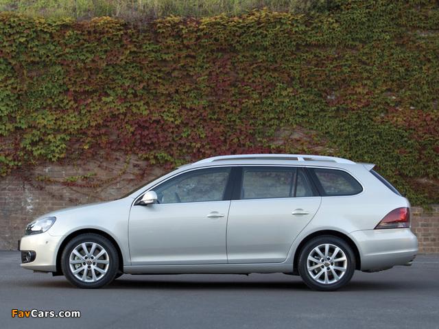 Volkswagen Golf Variant AU-spec (Typ 5K) 2009 wallpapers (640 x 480)