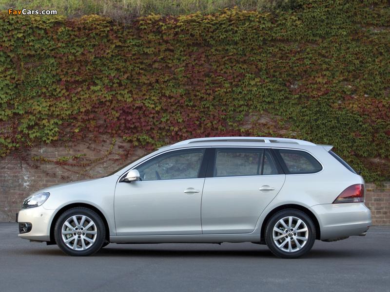 Volkswagen Golf Variant AU-spec (Typ 5K) 2009 wallpapers (800 x 600)