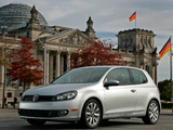 Volkswagen Golf 3-door US-spec (Typ 5K) 2009 wallpapers