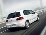 Volkswagen Golf Blue-e-motion Prototype (Typ 5K) 2010 images