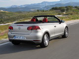 Volkswagen Golf Cabrio (Typ 5K) 2011 images