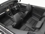 Volkswagen Golf Cabrio AU-spec (Typ 5K) 2011 images