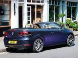 Volkswagen Golf Cabrio UK-spec (Typ 5K) 2011 photos