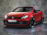 Volkswagen Golf GTI Cabrio Concept (Typ 5K) 2011 photos
