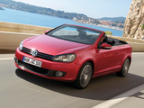 Volkswagen Golf Cabrio (Typ 5K) 2011 pictures