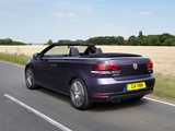 Volkswagen Golf Cabrio UK-spec (Typ 5K) 2011 pictures