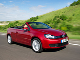 Volkswagen Golf Cabrio UK-spec (Typ 5K) 2011 wallpapers