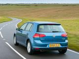Volkswagen Golf TDI BlueMotion 5-door UK-spec (Typ 5G) 2012 images
