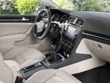 Volkswagen Golf TSI BlueMotion 3-door (Typ 5G) 2012 images