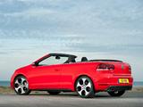 Volkswagen Golf GTI Cabriolet UK-spec (Typ 5K) 2012 photos