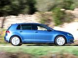 Volkswagen Golf TDI BlueMotion 5-door UK-spec (Typ 5G) 2012 photos