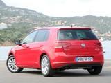 Volkswagen Golf TDI BlueMotion 5-door (Typ 5G) 2012 photos
