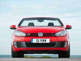Volkswagen Golf GTI Cabriolet UK-spec (Typ 5K) 2012 pictures