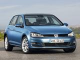 Volkswagen Golf TSI BlueMotion 5-door (Typ 5G) 2012 pictures
