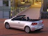 Volkswagen Golf Cabrio ZA-spec (Typ 5K) 2012 pictures