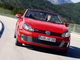 Volkswagen Golf GTI Cabriolet (Typ 5K) 2012 pictures