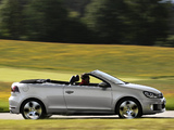 Volkswagen Golf GTI Cabriolet (Typ 5K) 2012 wallpapers