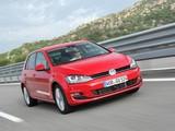 Volkswagen Golf TDI BlueMotion 5-door (Typ 5G) 2012 wallpapers