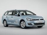 Volkswagen Golf TDI BlueMotion Variant (Typ 5G) 2013 photos