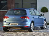 Volkswagen Golf TSI BlueMotion 5-door ZA-spec (Typ 5G) 2013 pictures