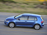 Volkswagen Golf TSI BlueMotion 5-door ZA-spec (Typ 5G) 2013 wallpapers