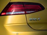Volkswagen Golf TDI 5-door UK-spec (5G) 2017 photos